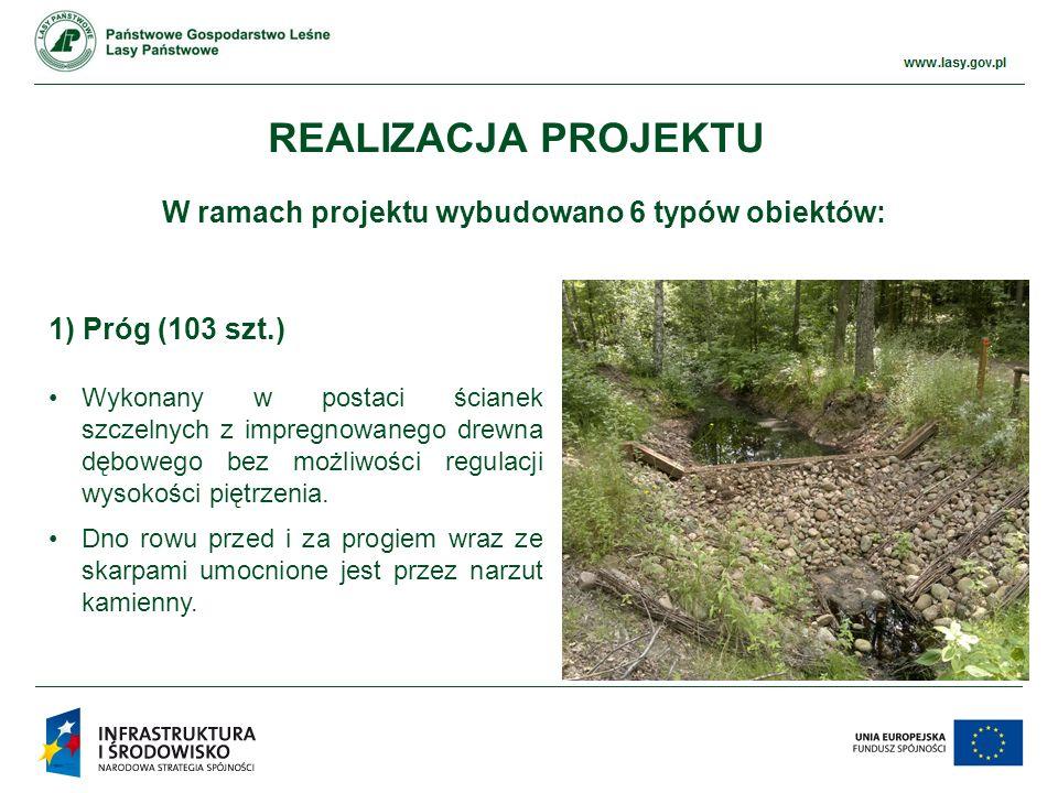 www.ckps.lasy.gov.pl PRZYKŁADY REALIZACJI – ZBIORNIKI WODNE
