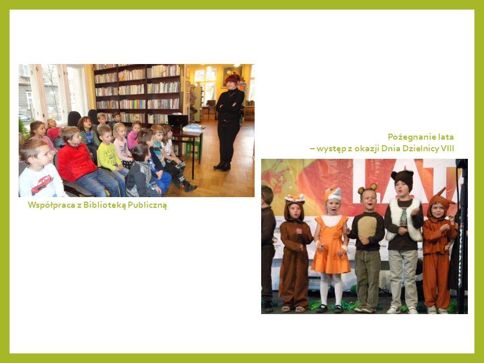 Współpraca z Biblioteką Publiczną Pożegnanie lata – występ z okazji Dnia Dzielnicy VIII