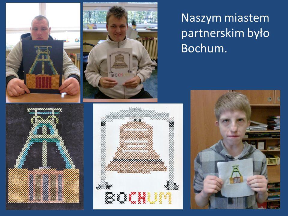 Naszym miastem partnerskim było Bochum.