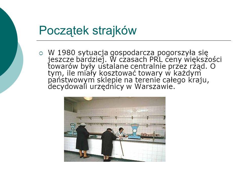 Początki podziemnej Solidarności  22 kwietnia 1982 Zbigniew Bujak, Bogdan Lis, Władysław Frasyniuk, Władysław Hardek powołali Tymczasową Komisję Koordynacyjną, która miała służyć podziemnemu działaniu Solidarności.