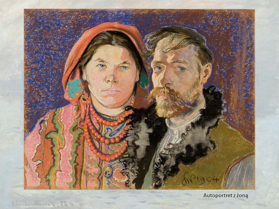 Autoportret z żoną