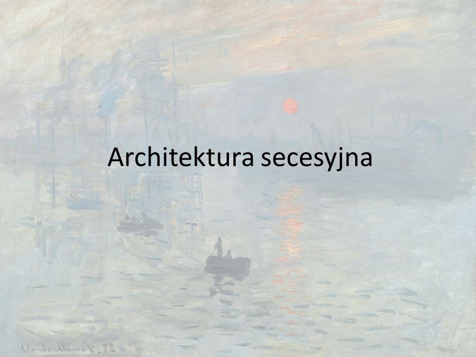 Architektura secesyjna