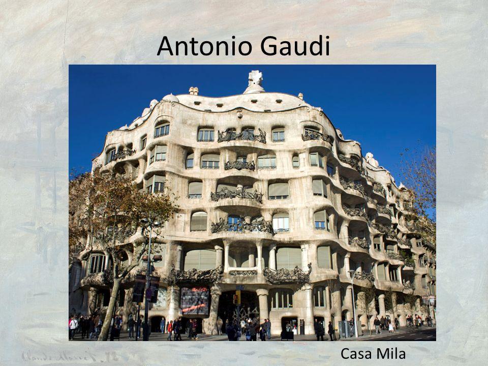 Antonio Gaudi Casa Mila