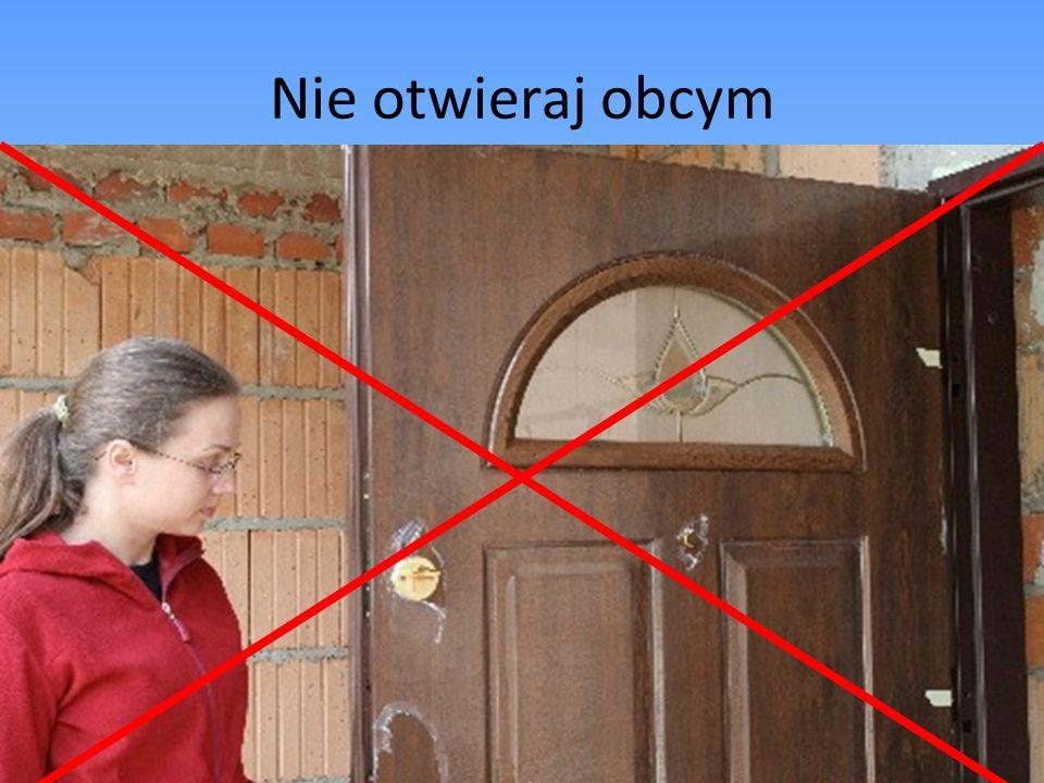 Nie otwieraj obcym