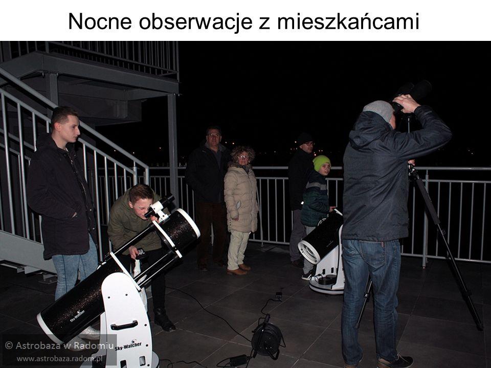 Nocne obserwacje z mieszkańcami