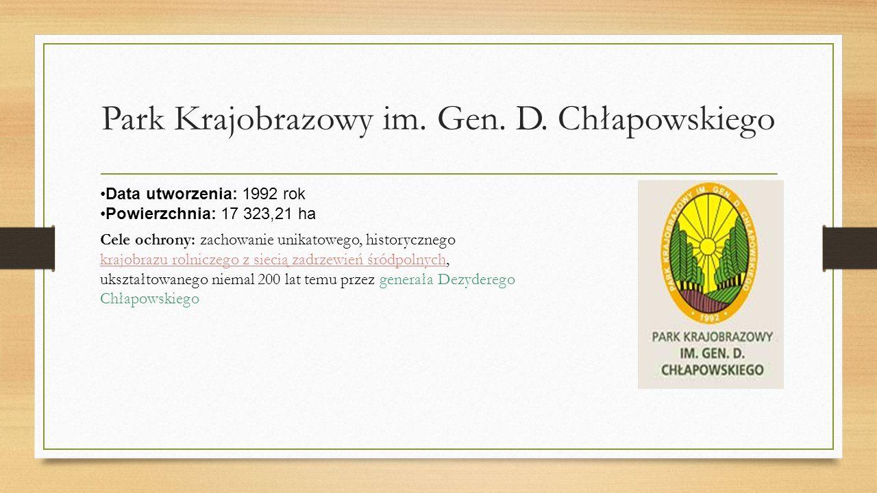 Park Krajobrazowy im.Gen. D.
