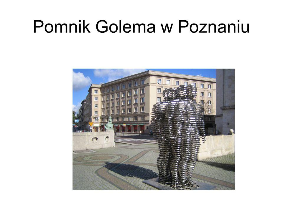Pomnik Golema w Poznaniu
