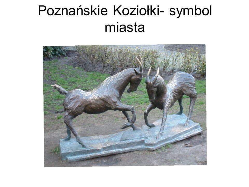 Poznańskie Koziołki- symbol miasta