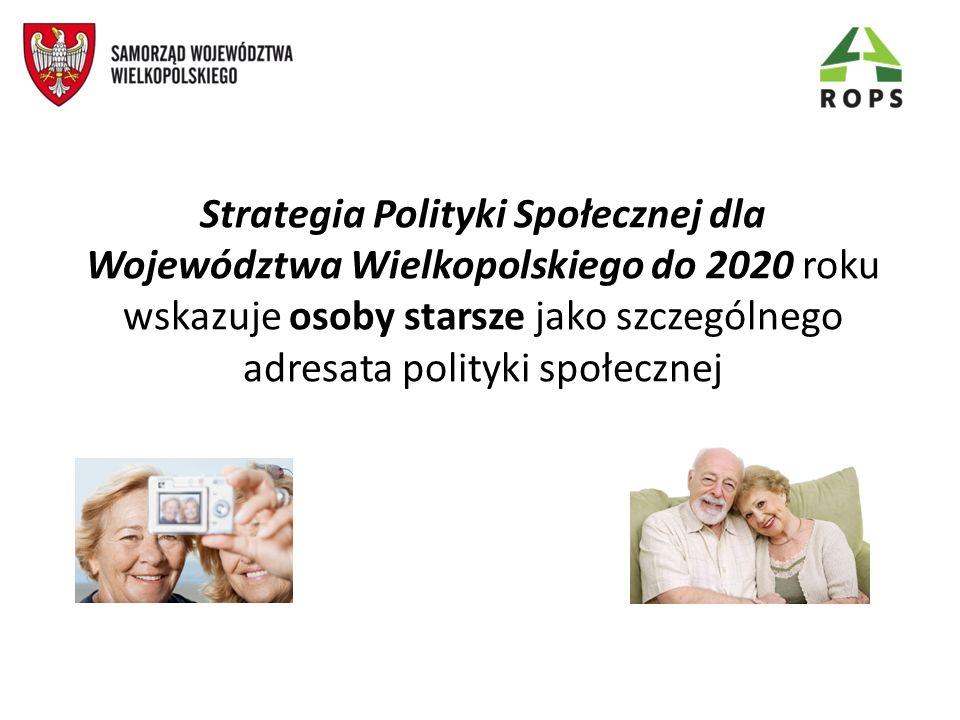 Srebrna gospodarka Odejście od traktowania procesu starzenia się społeczeństwa jako zjawiska obciążającego region, a uwypuklenie pozytywnych i aktywnych aspektów także dla regionów demograficznie młodych.