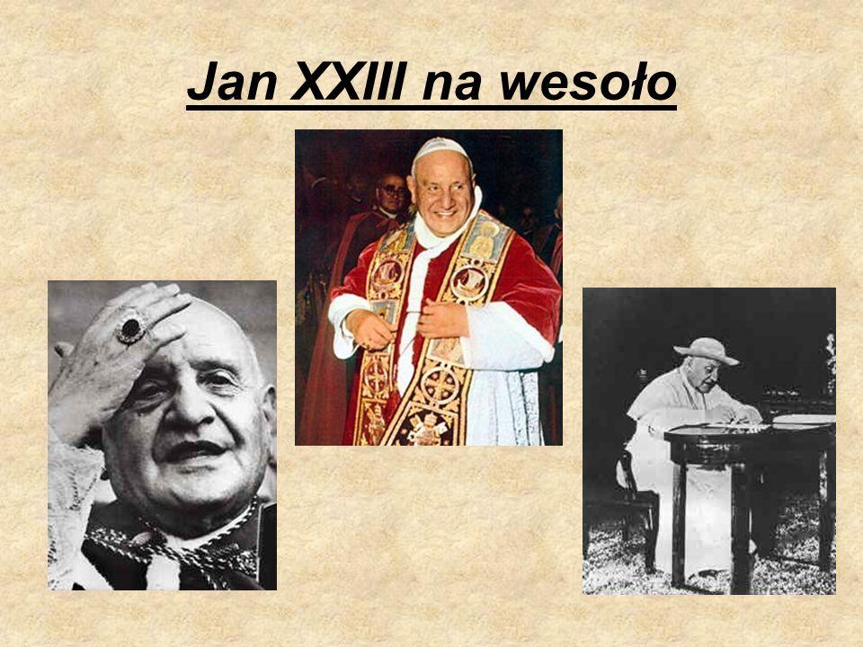 Jan XXIII na wesoło