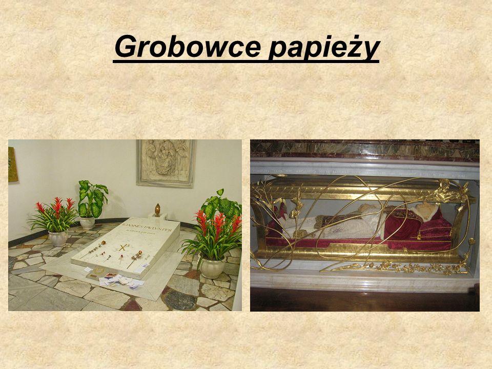 Grobowce papieży