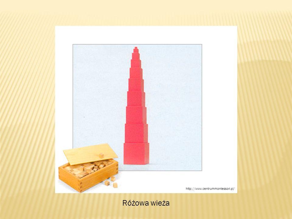 Różowa wieża http://www.centrummontessori.pl/