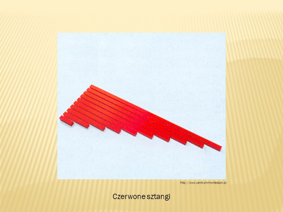 Czerwone sztangi http://www.centrummontessori.pl/