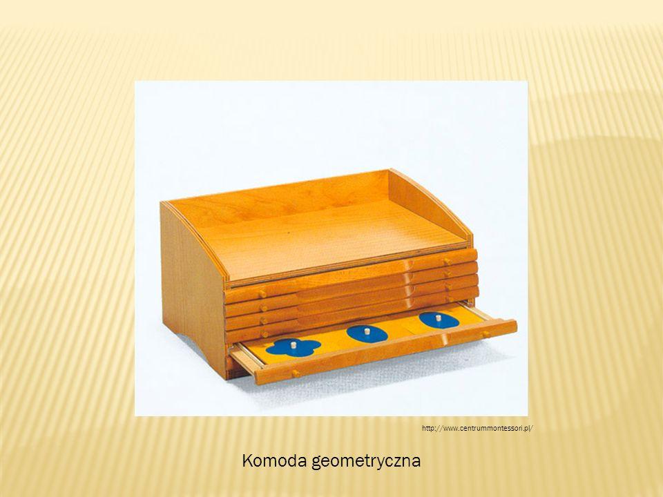 Komoda geometryczna http://www.centrummontessori.pl/