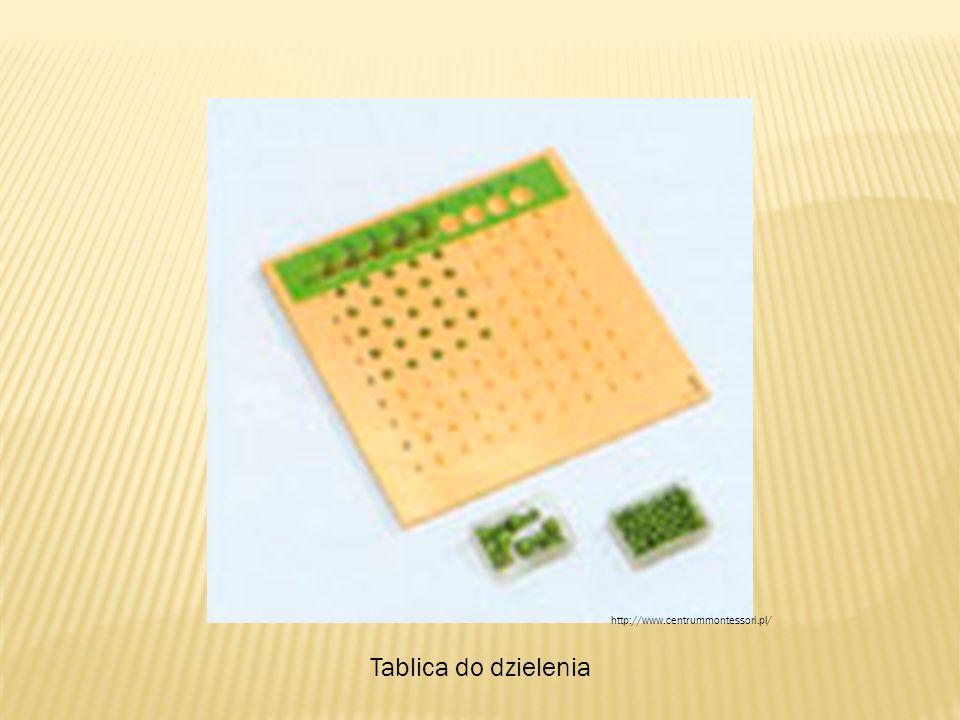 Tablica do dzielenia http://www.centrummontessori.pl/