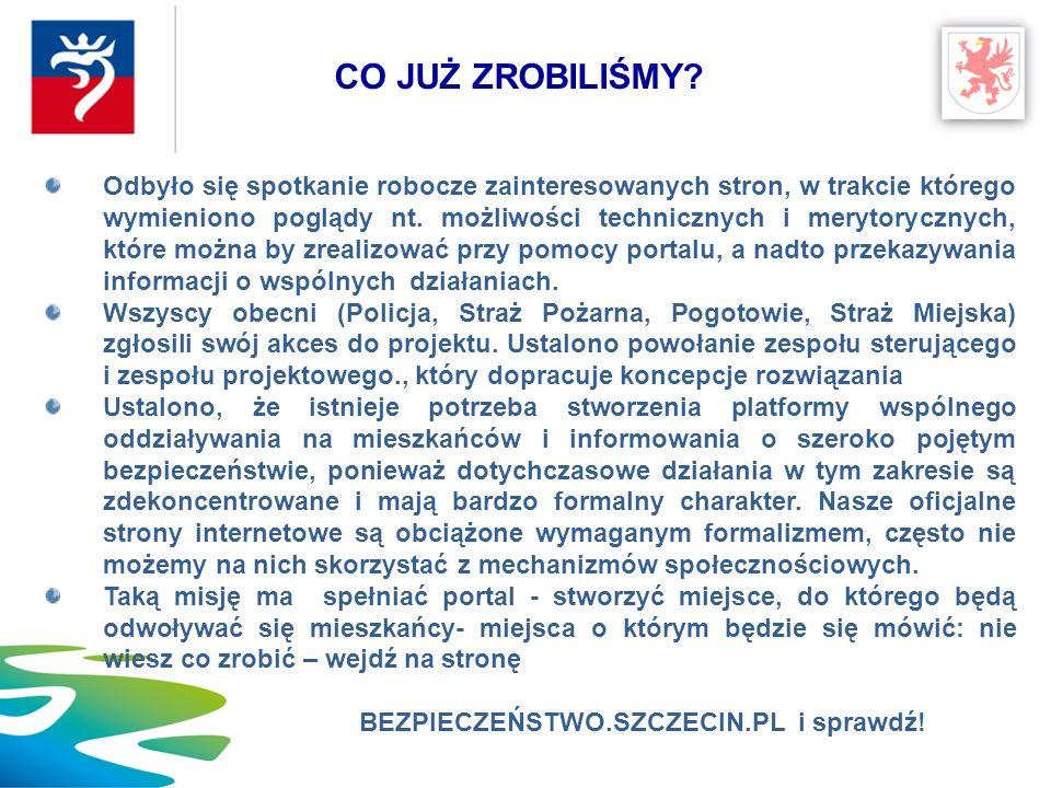 Kontakt: Andrzej Feterowski afeterow@um.szczecin.pl DZIAŁAJMY SKUTECZNIE, RAZEM !