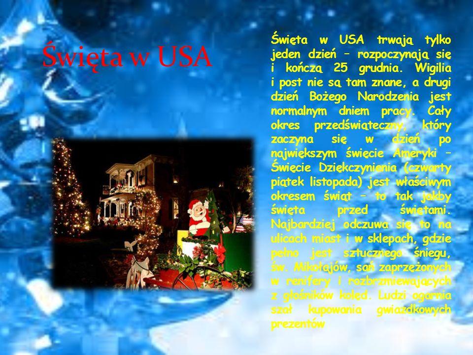 Święta w USA