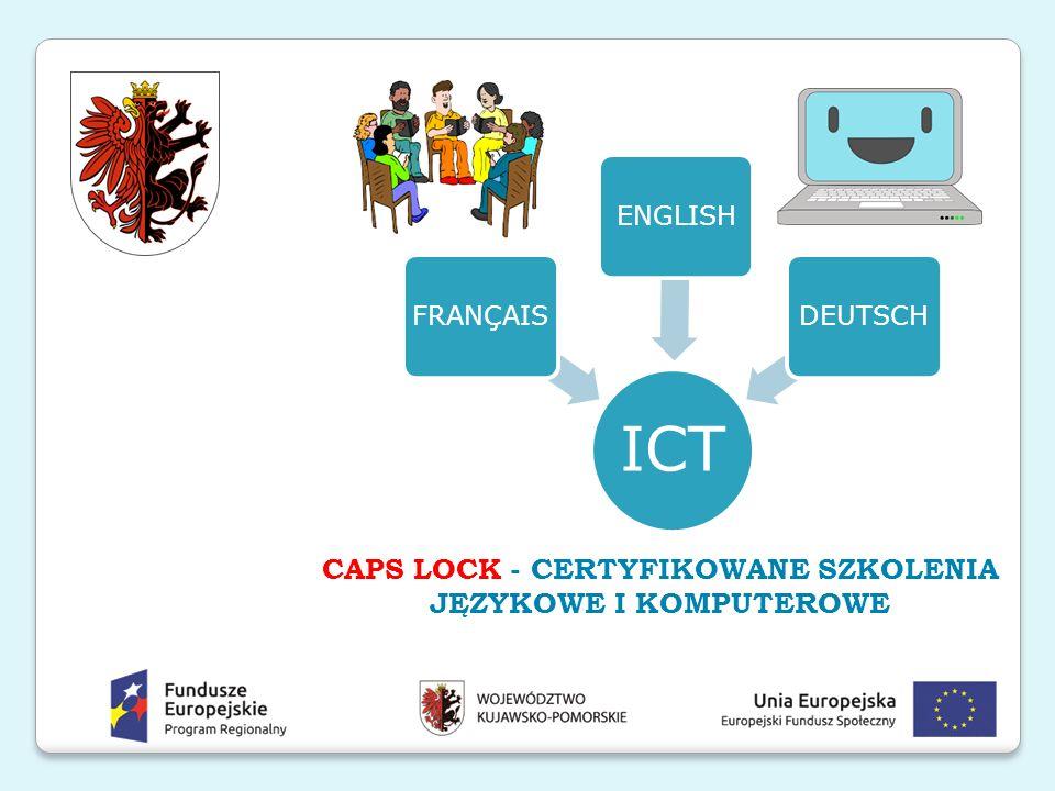 Działanie 10.4 Edukacja dorosłych Poddziałanie 10.4.1 Edukacja dorosłych w zakresie kompetencji cyfrowych i języków obcych Cel poddziałania 10.4.1 Rozwiązanie wśród osób dorosłych, zamieszkałych na terenie regionu kujawsko–pomorskiego umiejętności z zakresu nowoczesnych technologii informacyjno– komunikacyjnych, a także języków obcych Oś Priorytetowa 10 Innowacyjna edukacja