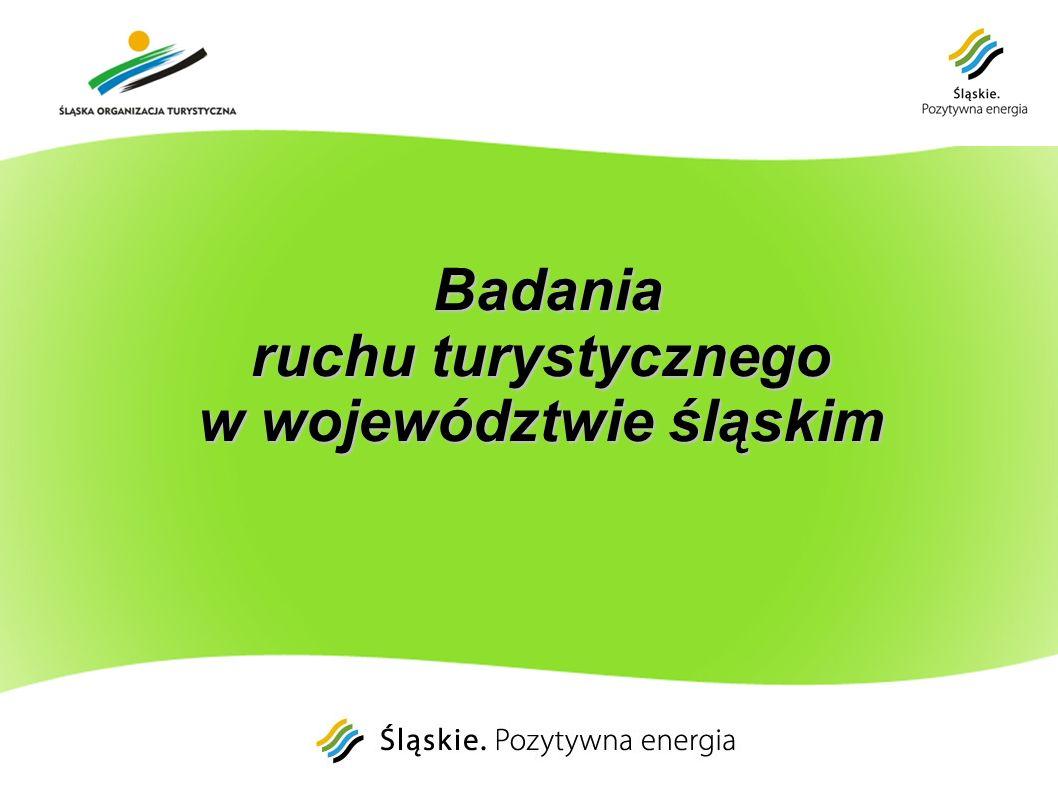Badania ruchu turystycznego w województwie śląskim