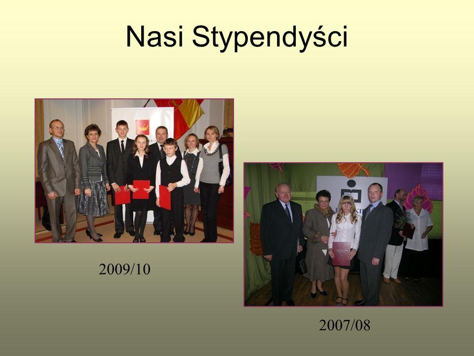 Nasi Stypendyści 2009/10 2007/08