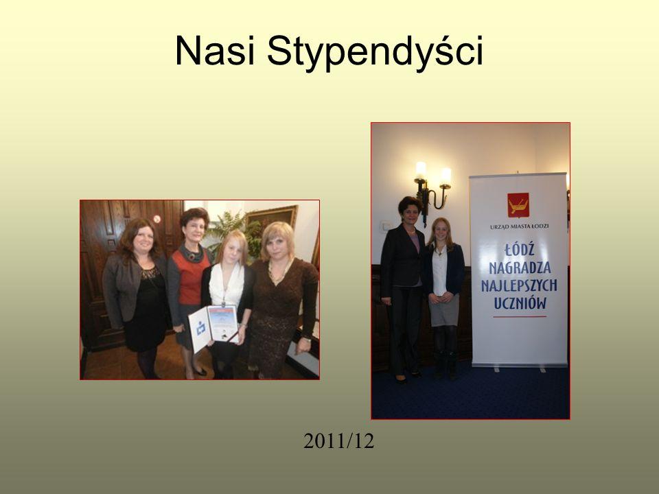 Nasi Stypendyści 2011/12