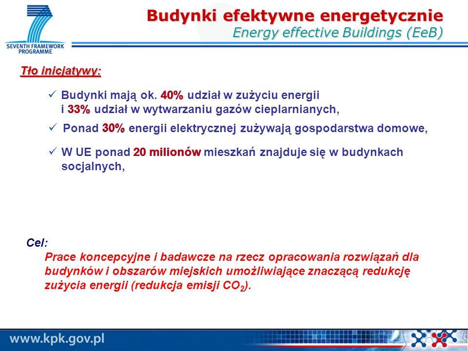Ponad 30% energii elektrycznej zużywają gospodarstwa domowe, Tło inicjatywy: 30% W UE ponad 20 milionów mieszkań znajduje się w budynkach socjalnych, 20 milionów Budynki mają ok.