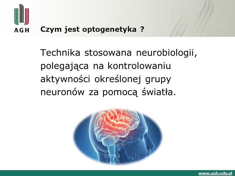 Czym jest optogenetyka .