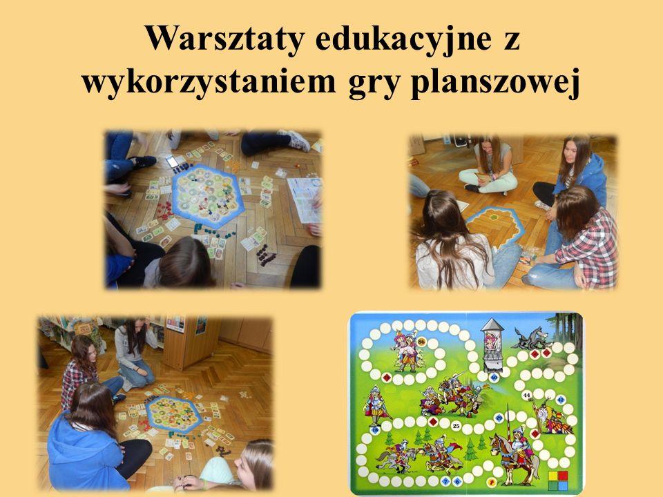Warsztaty edukacyjne z wykorzystaniem gry planszowej