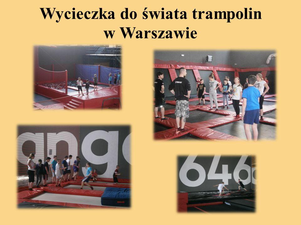 Wycieczka do świata trampolin w Warszawie