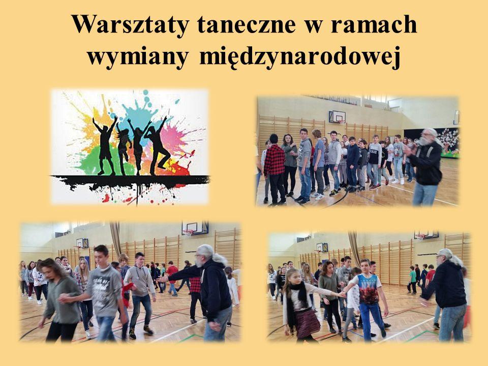 Warsztaty taneczne w ramach wymiany międzynarodowej