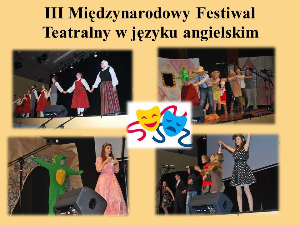 III Międzynarodowy Festiwal Teatralny w języku angielskim