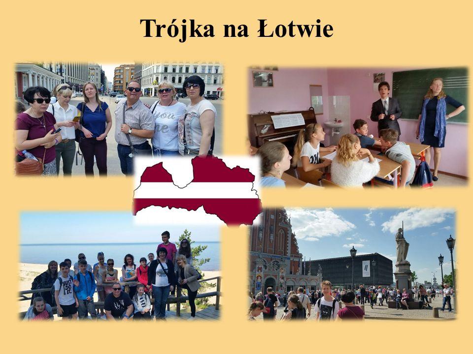 Trójka na Łotwie