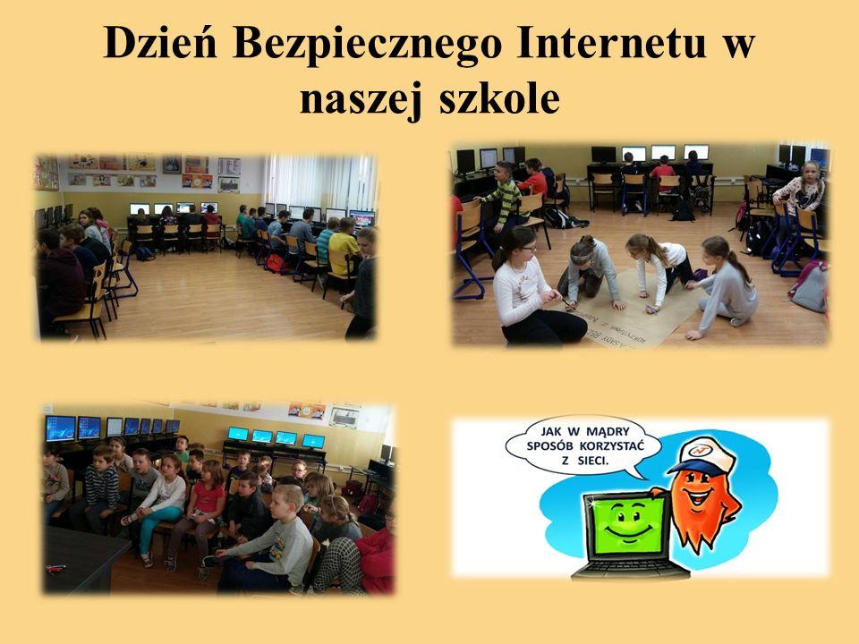 Dzień Bezpiecznego Internetu w naszej szkole