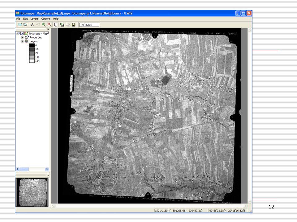 12 Fotomapa 8/8  Po zakończeniu resamplingu otrzymujemy fotomapę.