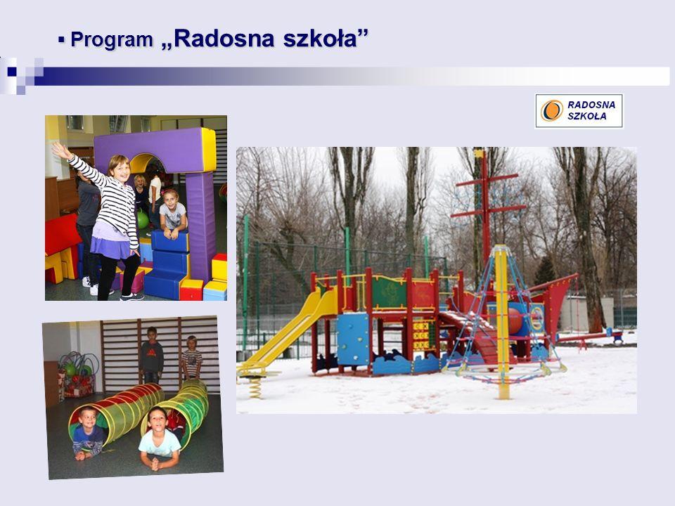 """ Program """"Radosna szkoła"""