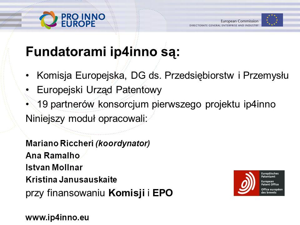 www.ip4inno.eu Pytania: 1.Z jakimi prawami mamy w tym przypadku do czynienia.