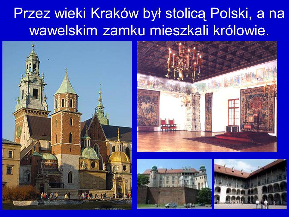 Kraków słynie ze swoich zabytków.To jest Kościół Mariacki.