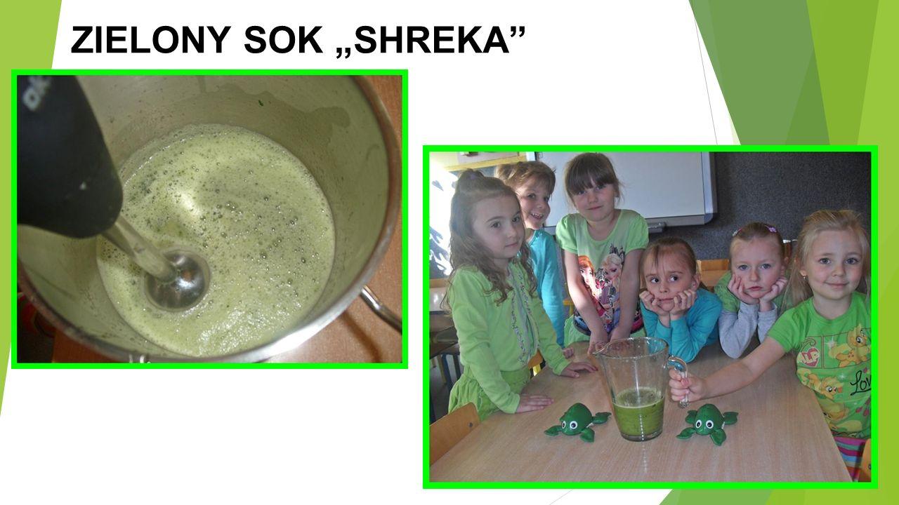 """ZIELONY SOK """"SHREKA"""