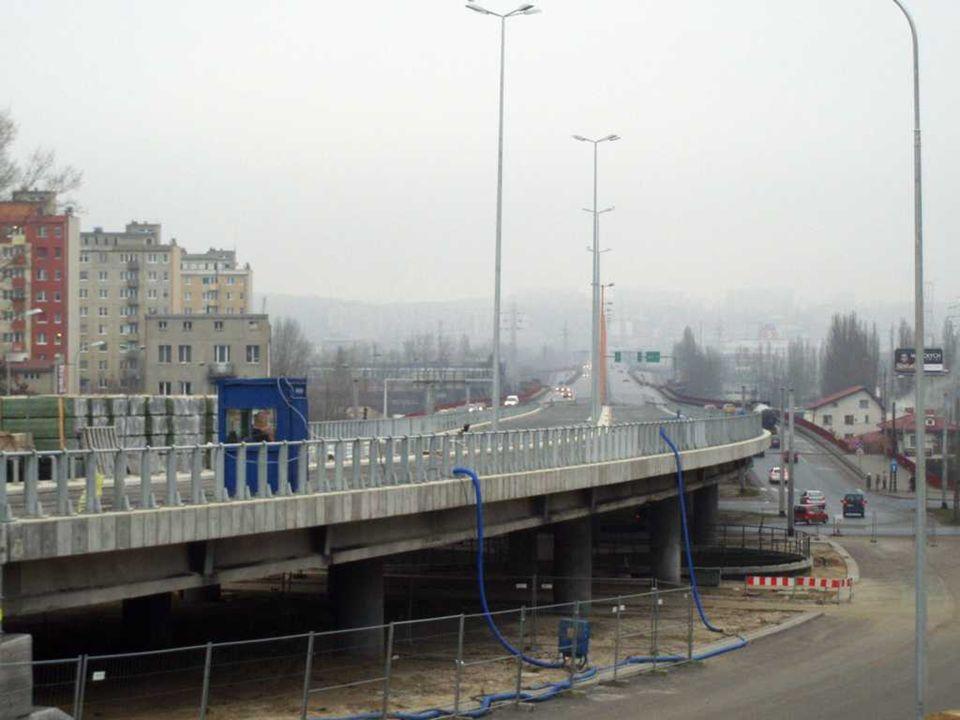 Rozjazd przed Estakadą – prawoskręt do centrum Gdyni
