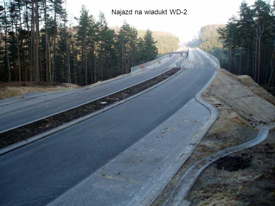 Odcinek między Obwodową, a wiaduktem WD-2