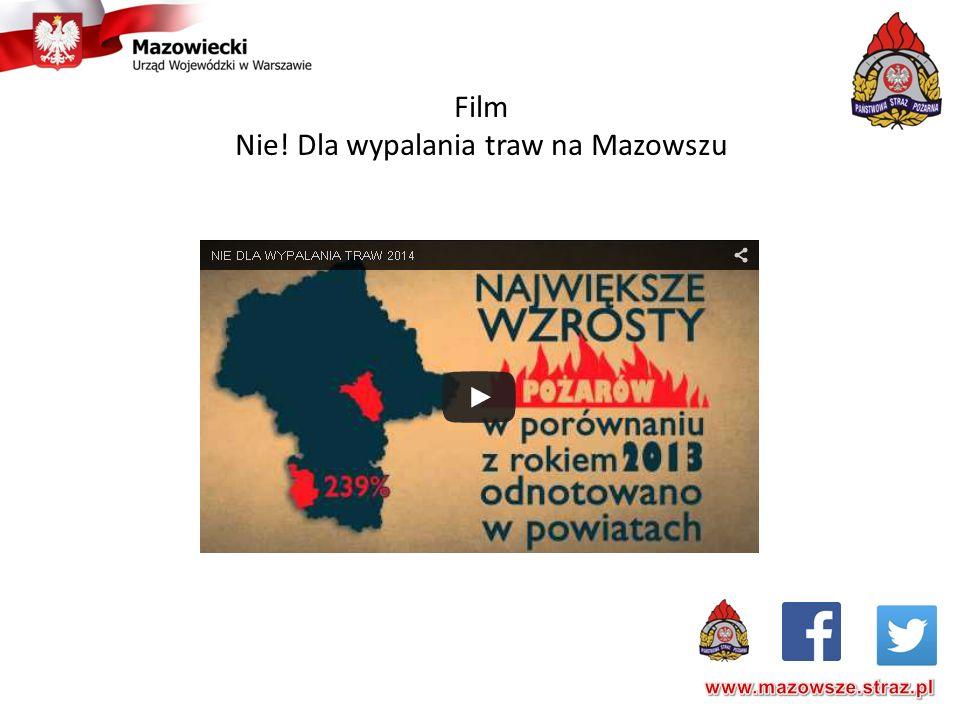 Film Nie! Dla wypalania traw na Mazowszu