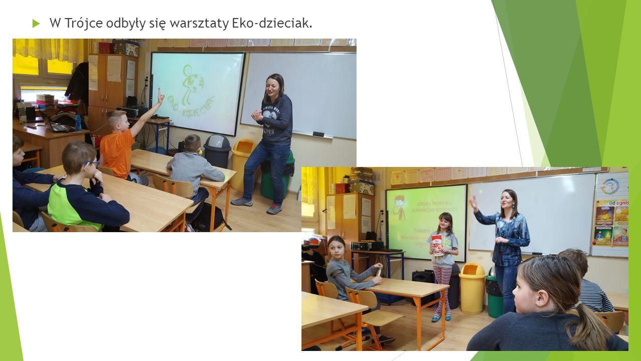  W Trójce odbyły się warsztaty Eko-dzieciak.