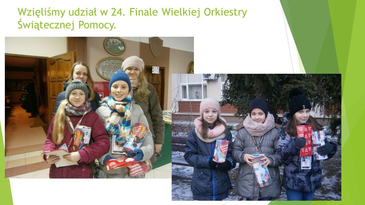 Wzięliśmy udział w 24. Finale Wielkiej Orkiestry Świątecznej Pomocy.