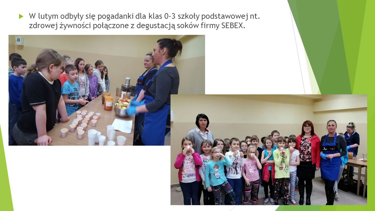  W lutym odbyły się pogadanki dla klas 0-3 szkoły podstawowej nt.