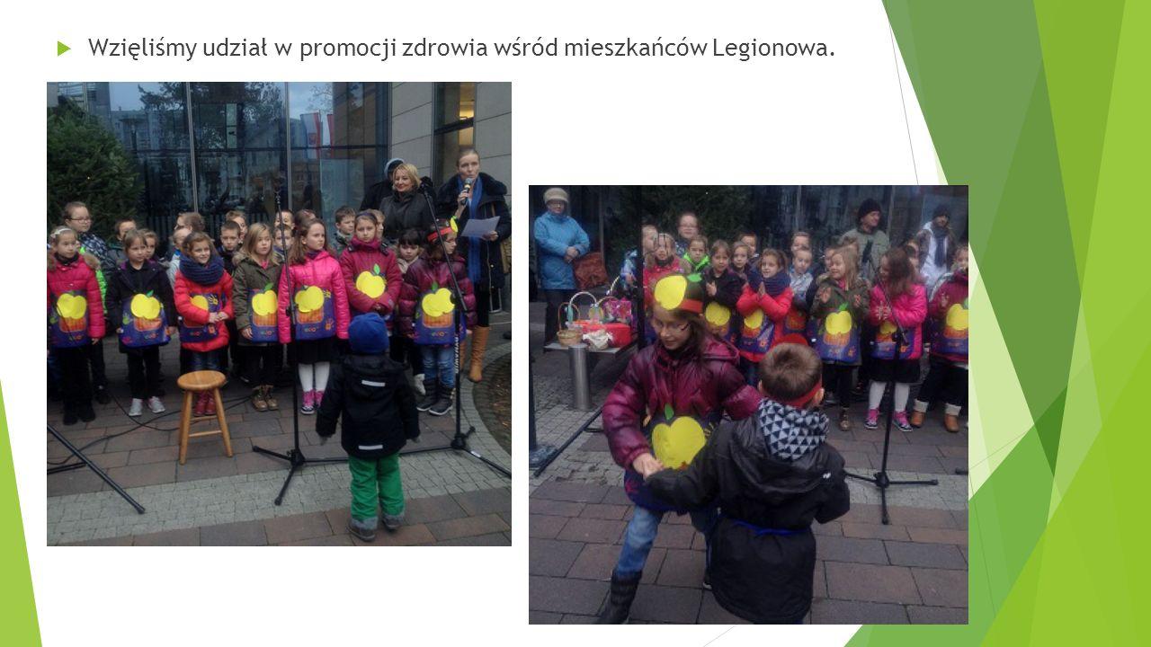  Wzięliśmy udział w promocji zdrowia wśród mieszkańców Legionowa.