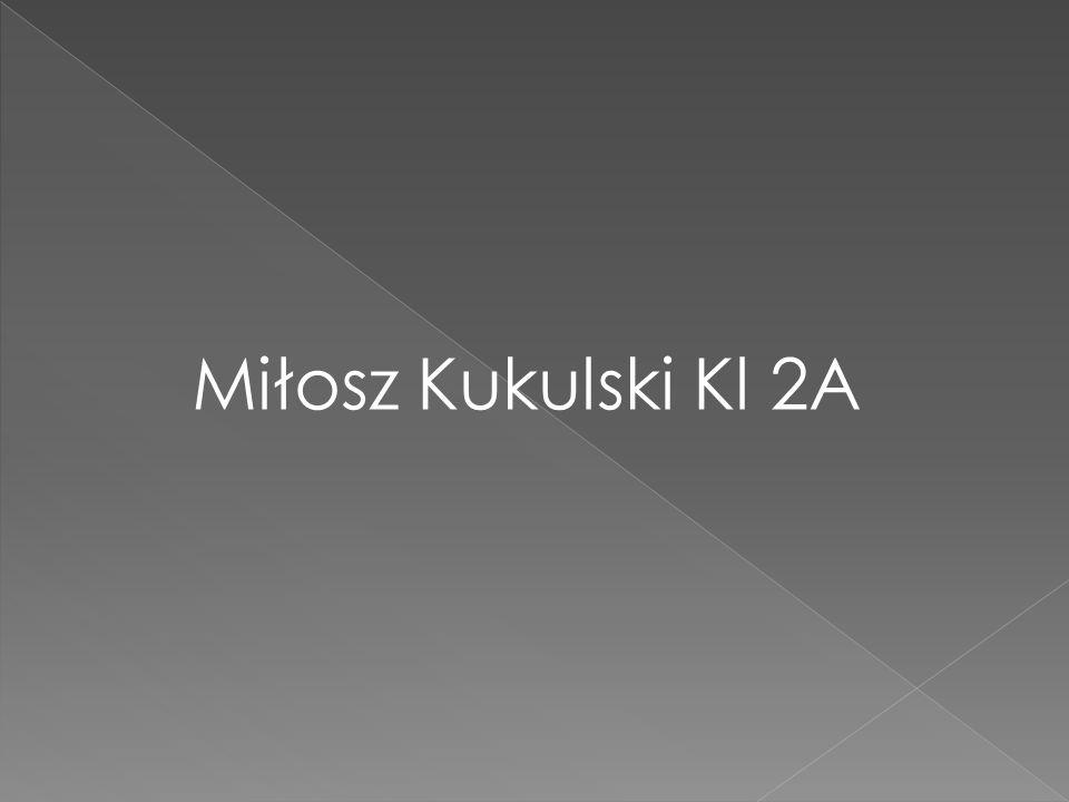 Miłosz Kukulski Kl 2A