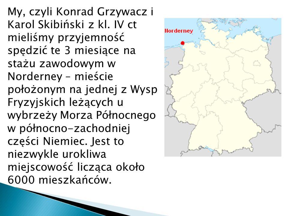 My, czyli Konrad Grzywacz i Karol Skibiński z kl.