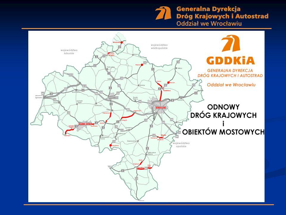 dk nr 3 Paszowice – Bolków długość w km – 6,2 koszt zadania – 18 128,0 tys.