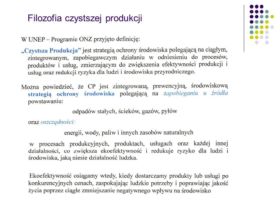 Filozofia czystszej produkcji