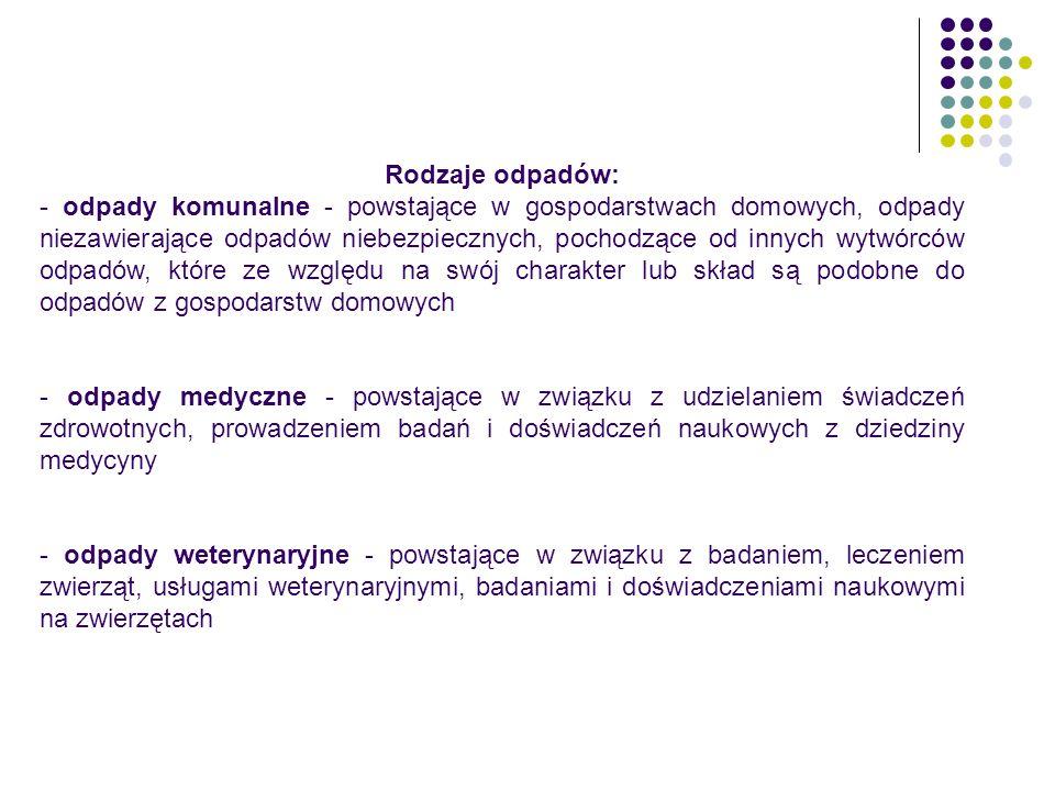 Polskim aktem prawnym dotyczącym opakowań jest Ustawa z dn.